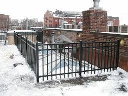 commercial ornamental iron fencing boston ma decorative iron