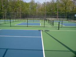 pickleball court surfaces backyard court builders