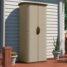 Garden Tool Storage Cabinets Outdoor Vertical Utility Storage Cabinet Garden Tool Shed Ebay