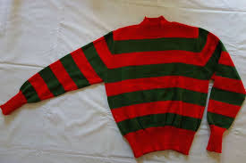chucky sweater freddy sweater packaging process custom made freddy krueger sweater