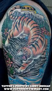 collection of 25 half sleeve tiger wildlife