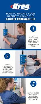 kreg cabinet hardware jig whether you re updating your cabinets or building a project from