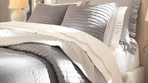 rustic luxe bedding pottery barn youtube