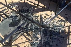 Patio Table Glass Shattered Glass Table From Asda U0027explodes In Sun U0027 Aol Uk Money