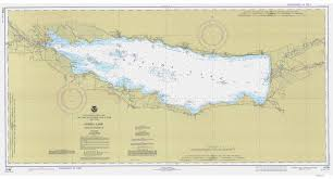 The Great Lakes Map New York Historical Nautical Charts