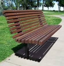 Benches In Park - palisade wood bench white oak or redwood park benches belson