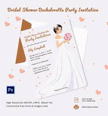 stag do invite bachelorette invitation template 40 free psd vector eps ai