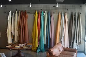 leather hides on display in cococo home atlanta showroom jpg 6016