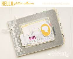joann fabrics photo albums hello glitter album by maggie massey heidi swapp at joanns