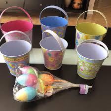 easter buckets best easter buckets with decorations for sale in dollard des ormeaux