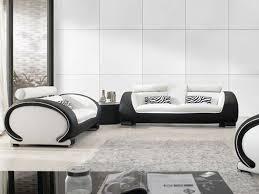 Luxury Leather Sofa Set Black And White Leather Sofa Set 58 With Black And White Leather