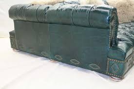 western leather sofa elegant turquoise leather sofa albuquerque turquoise leather sofa