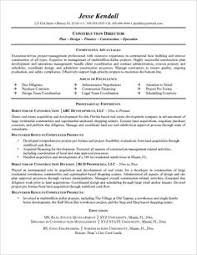 Free Construction Resume Templates Resume Examples Templates Construction Project Manager Resume