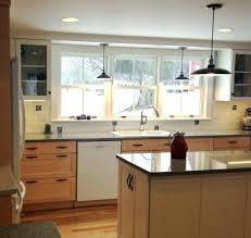 hanging lights for kitchen islands hanging light height kitchen