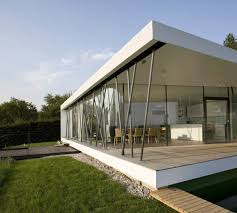 Glass Wall House by Compact Glass Wall House Austria Most Beautiful Houses In The World