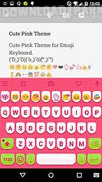 keyboard emojis for android pink emoji keyboard android app free in apk