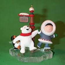 1999 frosty friends hallmark ornament collections