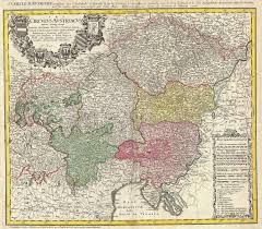 bohemia map file 1747 homann heirs map of austria and bohemia republic