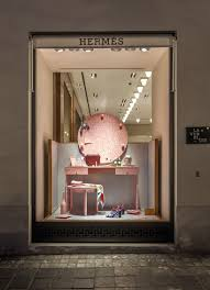 designboom hermes wieki somers hermès shop windows are tape wrapped still life