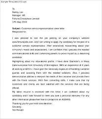 cover letter customer service representative customer service          cover letter customer service representative cover letter customer for Cover Letter For Customer Service Representative