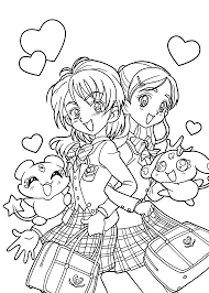 cute manga coloring pages anime guy coloring pages vitlt com