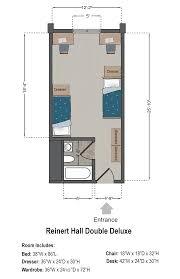 Printable Floor Plans by Reinert Hall Slu