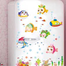 aliexpress com buy diy underwater world of fish bubbles cartoon