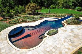 bedford ny glass tile pool u0026 spa cipriano landscape design and