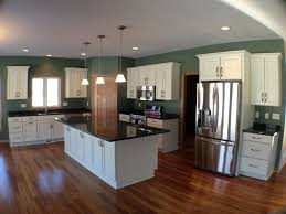 Bamboo Kitchens Bamboo Floor Dark Cabinets Pleasant Home Design