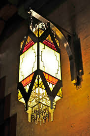 Arts And Crafts Style Outdoor Lighting by Guardian Building Part Two Chandeliers Art Deco And Lights