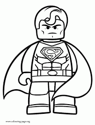 Lego Avengers Coloring Pages Free Android Coloring Lego Avengers Thor Coloring Page