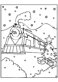 polar express coloring pages christmas coloringstar