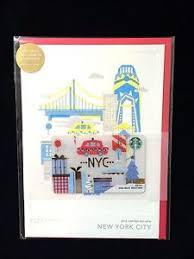 starbucks christmas gift cards starbucks 2016 new york city nyc christmas holiday gift card