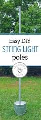 Solar Patio Lighting Ideas by Patio String Light Pole Birthday Party Lights Decoration Dance