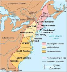 colonial america map mrsmertens licensed for non commercial use only chapters 5 and