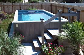 Backyard Landscaping Ideas With Above Ground Pool Backyard Pools Small Backyard Pool Backyard Swimming Pools