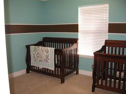 adorable country baby boy room ideas with grey wooden baby crib
