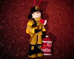 fireman ornaments etsy