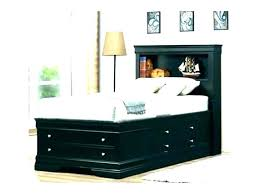 twin bed with bookcase headboard and storage twin captains bed with bookcase headboard twin headboard with