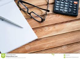 Office Desk Top View Business Desktop Office Objects Stock Photo Image 59345082