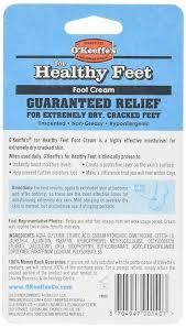 amazon com o u0027keeffe u0027s for healthy feet foot cream 3 2 oz jar