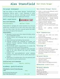 Realtor Resume Example by Real Estate Manager Resume 2017 Examples U2022