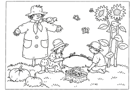 printable coloring pages kids fall funycoloring
