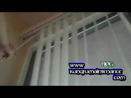 How Do You Clean Vertical Blinds Five Most Common Problems With Vertical Blinds Youtube