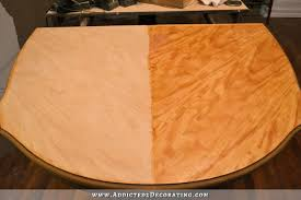 how to finish a table top with polyurethane dining table makeover fail