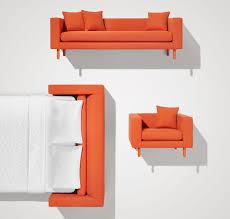Henry Sleeper Sofa Reviews Mono Modern Sleeper Sofa Single Cushion Sofa Blu Dot