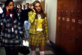 cher u0027s in clueless tartan skirt suit u2013
