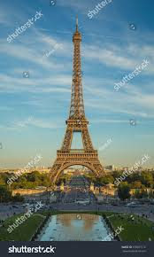beautiful day paris near eiffel tower travel stock photo 539037112