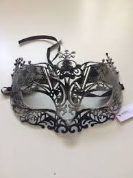 fancy masquerade masks masquerade masks stag hen party prom fancy dress silver
