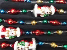 pacconi santa garland blown glass by treasureofmemories